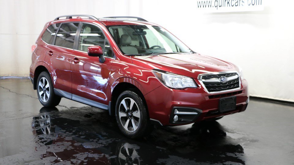 2017 subaru forester limited awd